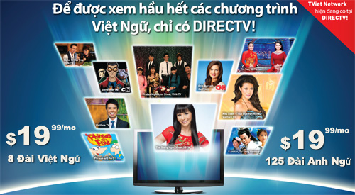 Viet direct cua directv 8 i vi t ng viet nam for Fishing channel on directv