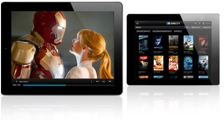 Directv: Channels available for streaming on Tablets and Smart Phones