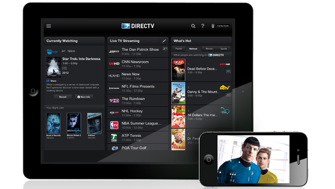 The DIRECTV iPad app has a brand new face